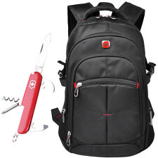 "SwissGear Waterproof Backpack Rucksack 17"" Laptop Travel Bag Satchel Schoolbag"