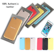 2014 Luxury Real Leather Case Cover Skind for iPhone 6 4.7'' Office case +gift