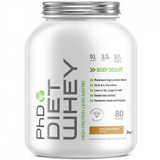 PHD DIET WHEY - LEAN MUSCLE GROWTH HIGH PROTEIN POWDER DRINK SHAKE - L CARNITINE