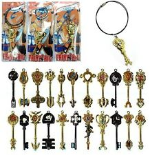 Metal Key Chains of Fairy Tail Constellation Magister Lucy's Zodiac Magic keys