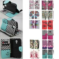 For LG Volt F90 LS740 Cell Phone Case Hybrid PU Leather Wallet Pouch Flip Cover