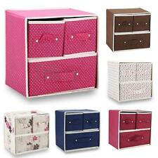 Home Storage Case Box Organizer Container Holder 3 Drawers for Clothes Cosmetics