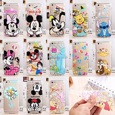 Ultra Thin 0.3mm Disney Crystal Clear Soft Rubber Case Cover For Apple iPhone 6