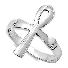 Egyptian Ankh Cross Ring Sterling Silver 925 Best Price Jewelry Gift Selectable