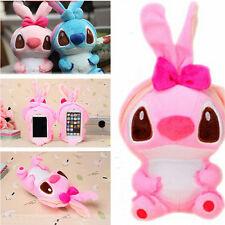 Lovely 3D Cute Cartoon Dog Plush Toy Doll Case Cover For HTC Cell Phones