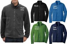 Mens Polar Micro Fleece Full Zip Jacket with Pockets Winter Warm S-2X 3X 4X NEW!