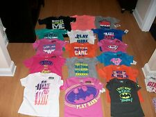 Under Armour Girls Charged Cotton Big Logo OR Graphic T Shirt, MSRP $19.99