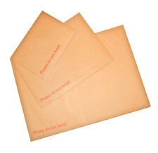 "A5 / C5 - A4 / C4 -A3 / C3 Hard Board Backed Envelopes Seal ""Please Do Not Bend"""