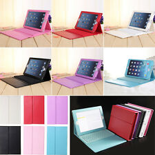 For Apple IPAD MINI  Bluetooth Keyboard Leather Case Cover Wireless With Stand