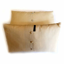 ANDREW MARTIN SILK CUSHIONS 75% OFF RRP incl feather interiors, in two sizes,