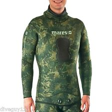 Mares Pure Instinct 7mm Wetsuit (Jacket Only) Scuba Diving - Camo Green