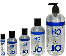 System Jo H2O Lubricant 100% Latex Safe Personal Water Based Lube
