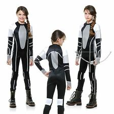 Hunger Games KATNISS Girls Jumpsuit Halloween Costume The Cosplay Catching Fire