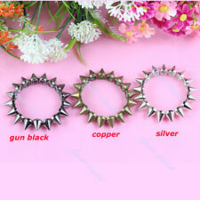 Fashion Elastic Stretch Hot Cool Rock Punk Studs Spike Rivets Bangle Bracelet