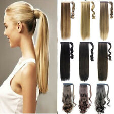 TOP sale new fashion synthetic Wrap Around clip in ponytail hair extensions ZB