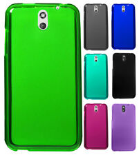 For HTC Desire 610 TPU CANDY Flexi Gel Skin Case Phone Cover + Screen Protector