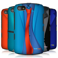 HEAD CASE COLOUR BLOCK SUITS PROTECTIVE HARD BACK CASE COVER FOR BLACKBERRY 9720