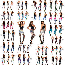2014 Chic Design Women Sexy Stretchy Galaxy Print Leggings Popular Tights Pants