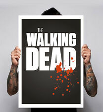 The Walking Dead Poster Image Zombies Tv Show Comic Rick Daryl 180gm A1-3 New