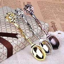 2 Pieces Vintage Palace Style Tea Coffee Ice Cream Spoon Scoop Bar Party Home