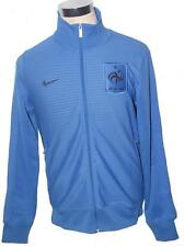 Nike France FFF N98 blue full zip line up football team jacket 449703 404 M-XXL