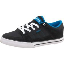 NEW MENS DUFFS SLICE SKATE TRAINERS SPORTS SHOES WIDE SHOES BLACK ROYAL