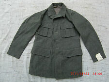 Vintage Swedish Army Fitted Wool Coat/Jacket/Tunic WWII M39. NEW, 1940