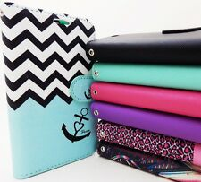 WALLET POUCH PU LEATHER + TPU SKIN STAND CASE FOR LG G Vista VS880 cell phone