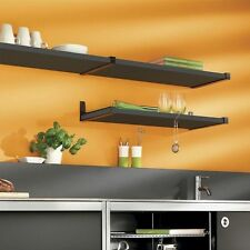 Black Sumo Shelf with Ara Supports - Assorted Sizes and Support Colors