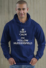 Keep Calm and Follow Huddersfield football Hoodie
