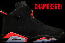 "Nike Air Jordan Retro 6 VI ""Black Infrared"" - ALL SIZES - with receipt"