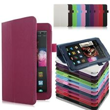 For 2014 Amazon Kindle Fire HD 6 7 Tablet Leather Folio Slim Fit Case Cover New
