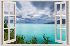 Wall View Decal 3d Window Decor Art Removable Home Stickers Vinyl Sticker Mural