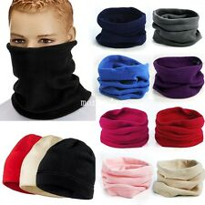 New Fleece Thermal Snood Hat Neck Warmer Ski wear Scarf Beanie Balaclava
