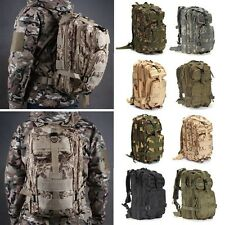 3D Outdoor Hiking Camping Bag Army Military Tactical Trekking Rucksack Backpack
