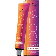 Schwarzkopf Igora VIBRANCE GLOSS & TONE Hair Color AMONIA FREE - CHOOSE COLOR