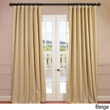 Extra Wide Thermal Blackout 84-inch Curtain Panel