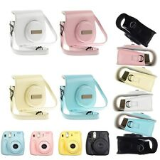 New Fujifilm Instax Mini 8 Camera Shoulder Bag + Close-up Lens Self Shoot Mirror