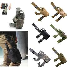 Tactical Army Drop Leg Holster Rig Pistol HandGun Thigh Elite Police Swat Puttee