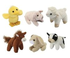 Living Nature farm Mini Buddies soft toy ( cat cow pig sheep duck cuddly gift )