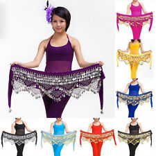 Markdown Belly Dancing Hip Scarf Skirt Wrap Velvet Costumesx1pcs  Fashion