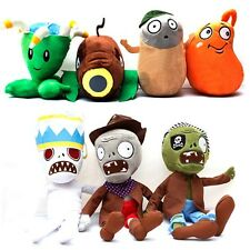 PLANTS vs. ZOMBIES 2 Soft Plush Dolls Teddy Stuffed Toy Kids Baby Birthday Gifts