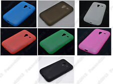Multi Color Matting TPU Silicone CASE Cover For Samsung Galaxy Ace Plus S7500