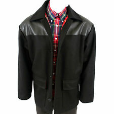 Warrior England Donkey Jacket Winter Coat PVC + Tartan Lining Skinhead Punk Mod
