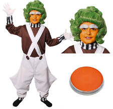 CHILDS FACTORY WORKER COSTUME ADD WIG FACE PAINT BOOK WEEK CHARACTER FANCY DRESS