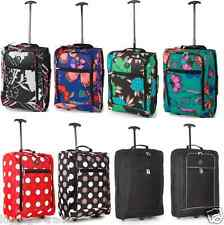 Airline Carry On Cabin Travel Trolley Holdall Luggage Flight Bag Ryanair Case UK