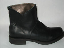 STIVALE DONNA 36-37-38-39-40 NERO 100% VERA PELLE  MADE ITALY FOD.PELLE BOOTS