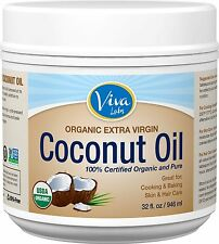 Viva Labs Organic Extra Virgin Coconut Oil by Viva Labs 32 Ounce, 54 Ounce