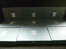 Royal Mint UK Proof Set - 1983 to 1989 Boxed with COA's Multi-Listing
