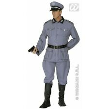 Mens German Soldier Costume Outfit for Military Army War Fancy Dress